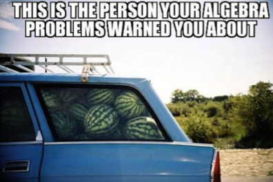 Car full of watermelons